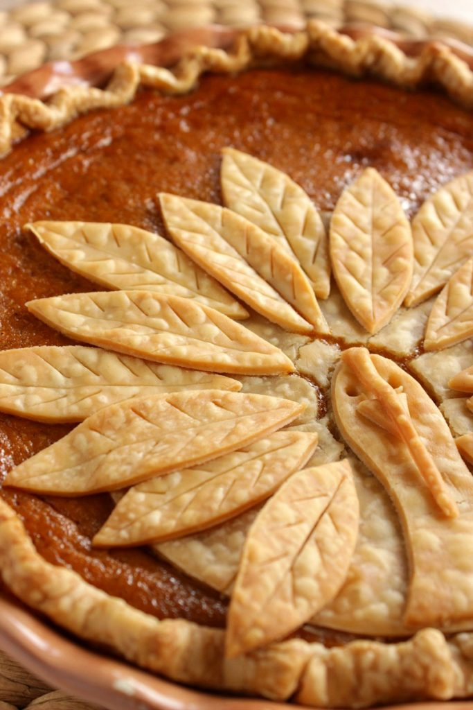 Thanksgiving turkey pumpkin pie