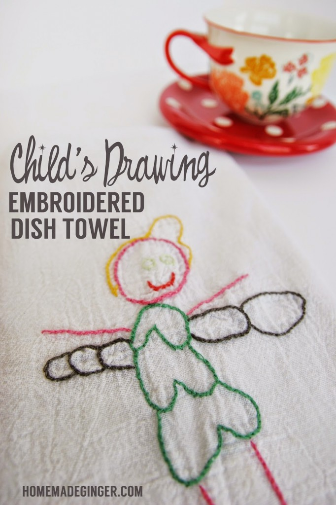 childs-drawing-embroidered-dish-towel