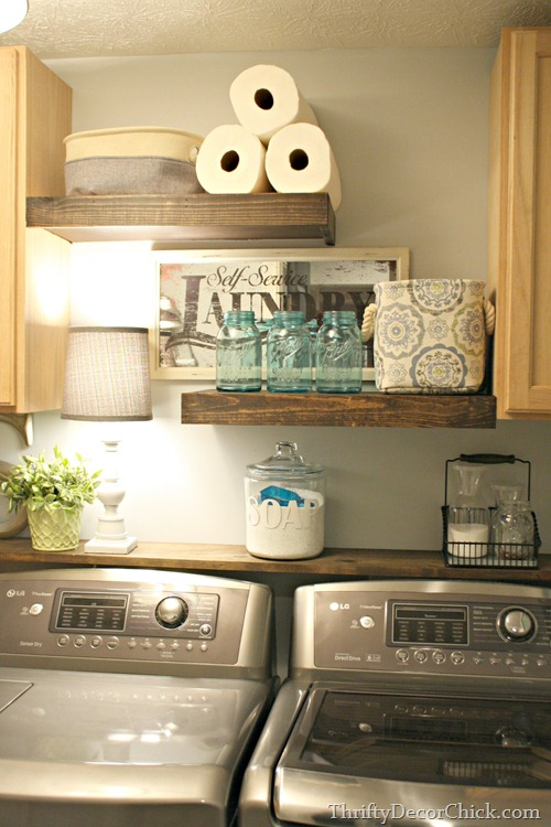 diy-wood-shelving-laundry-storage
