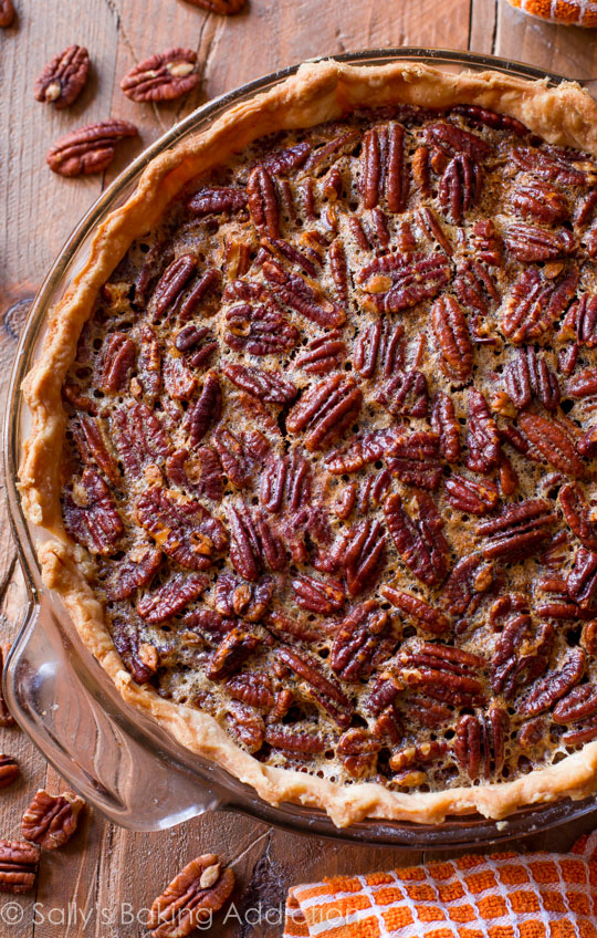 favorite pecan pie recipe