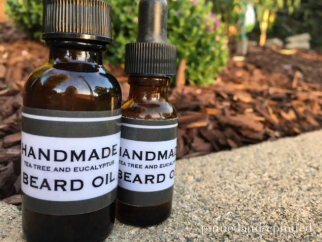 handmade beard oil