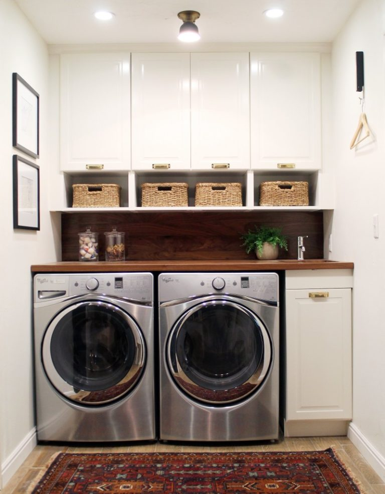 for stunning small ideas designs bright modern interior room a organization limited laundry style space