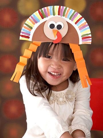 thanksgiving turkey hat