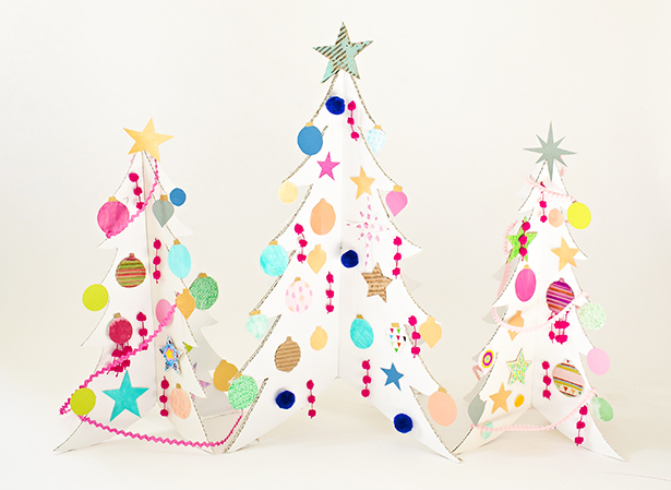 easy paper christmas ornaments - Easy Paper Christmas Decorations