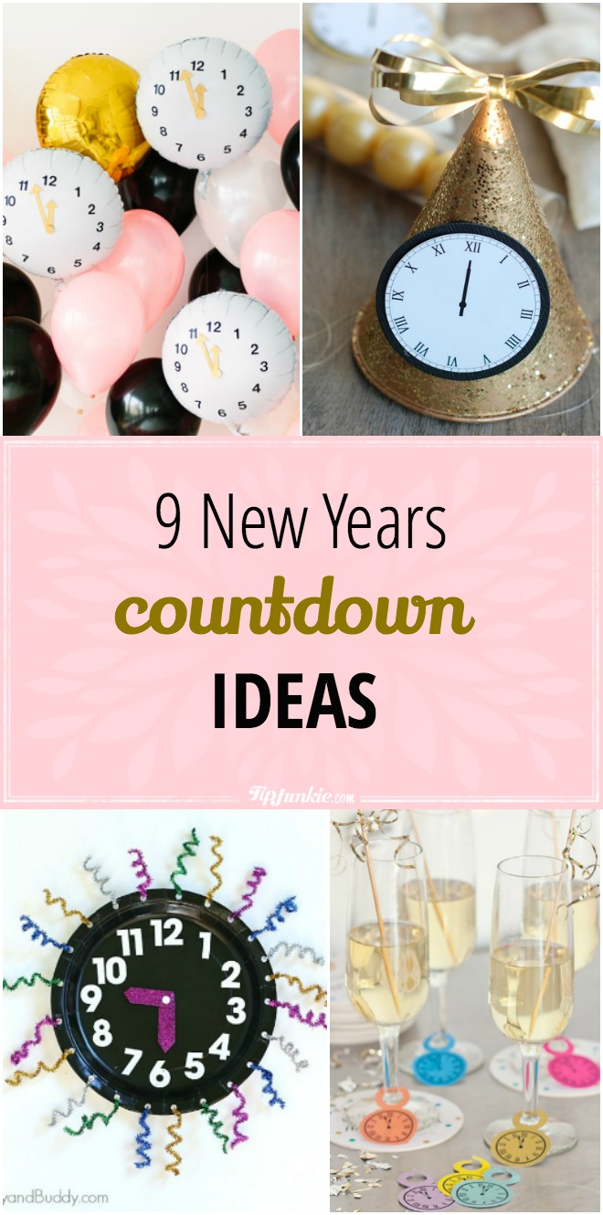 Countdown to the New Year with these fun ideas!