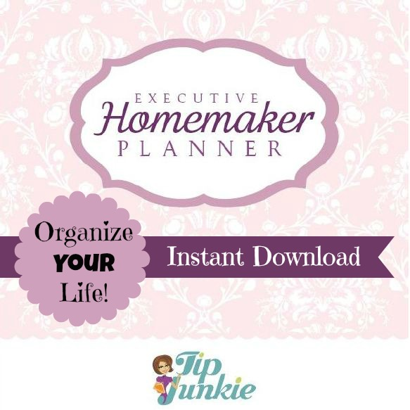 Executive Homemaker Planner Free Printable