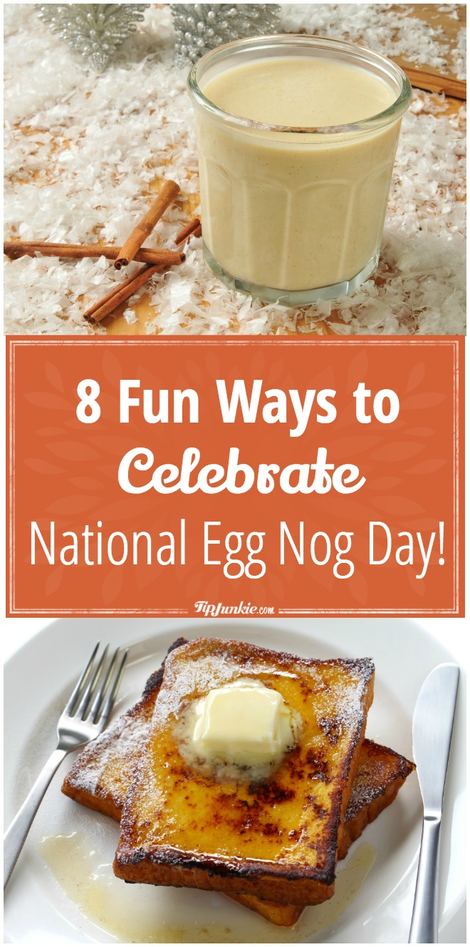 8 Fun Ways to Celebrate National Egg Nog Day