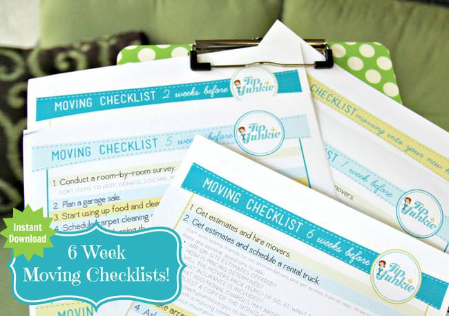 How To Move Checklist For Moving Out