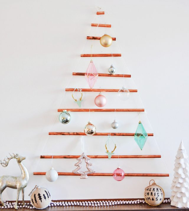 copper pipe christmas tree