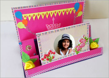 How to make DIY Pop Up Birthday Greeting Card Homemade Gift Idea