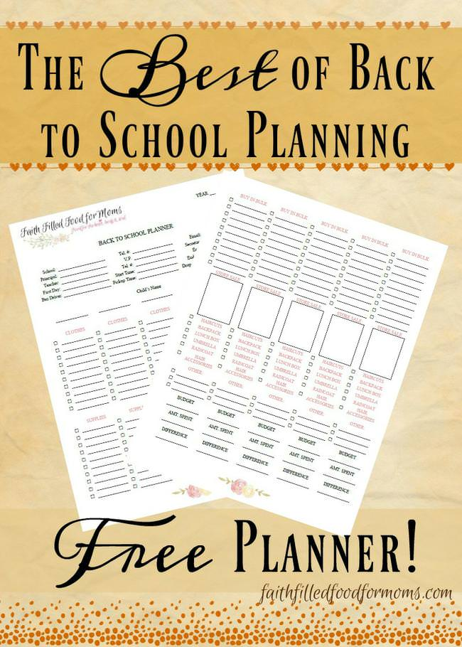 The Best of Back to School Planning – Free Planner-jpg