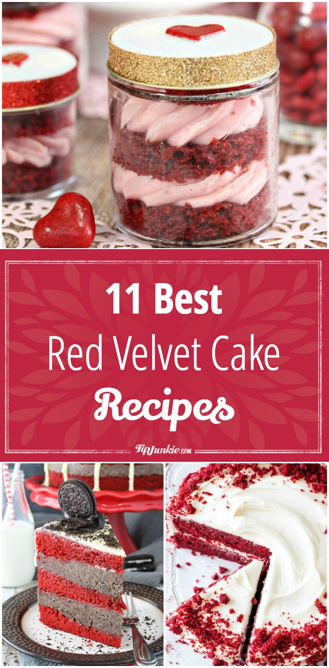 11 Best Red Velvet Cake Recipes