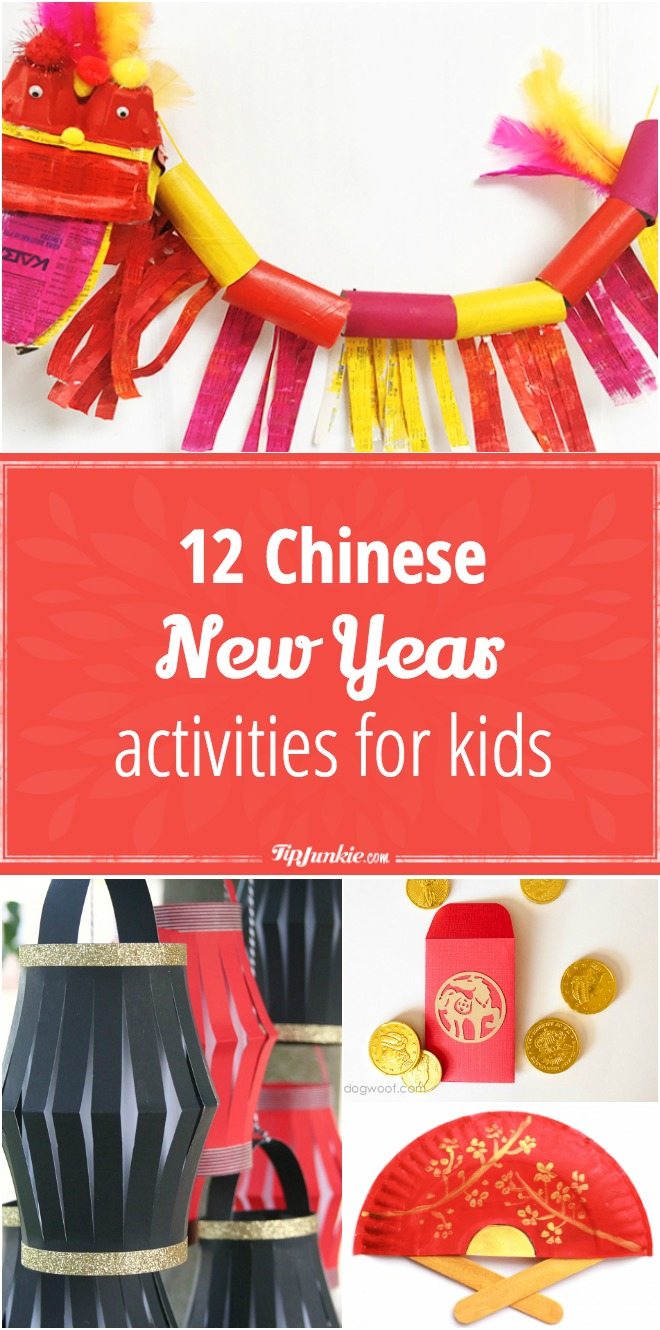 12 Chinese New Year Activities for Kids