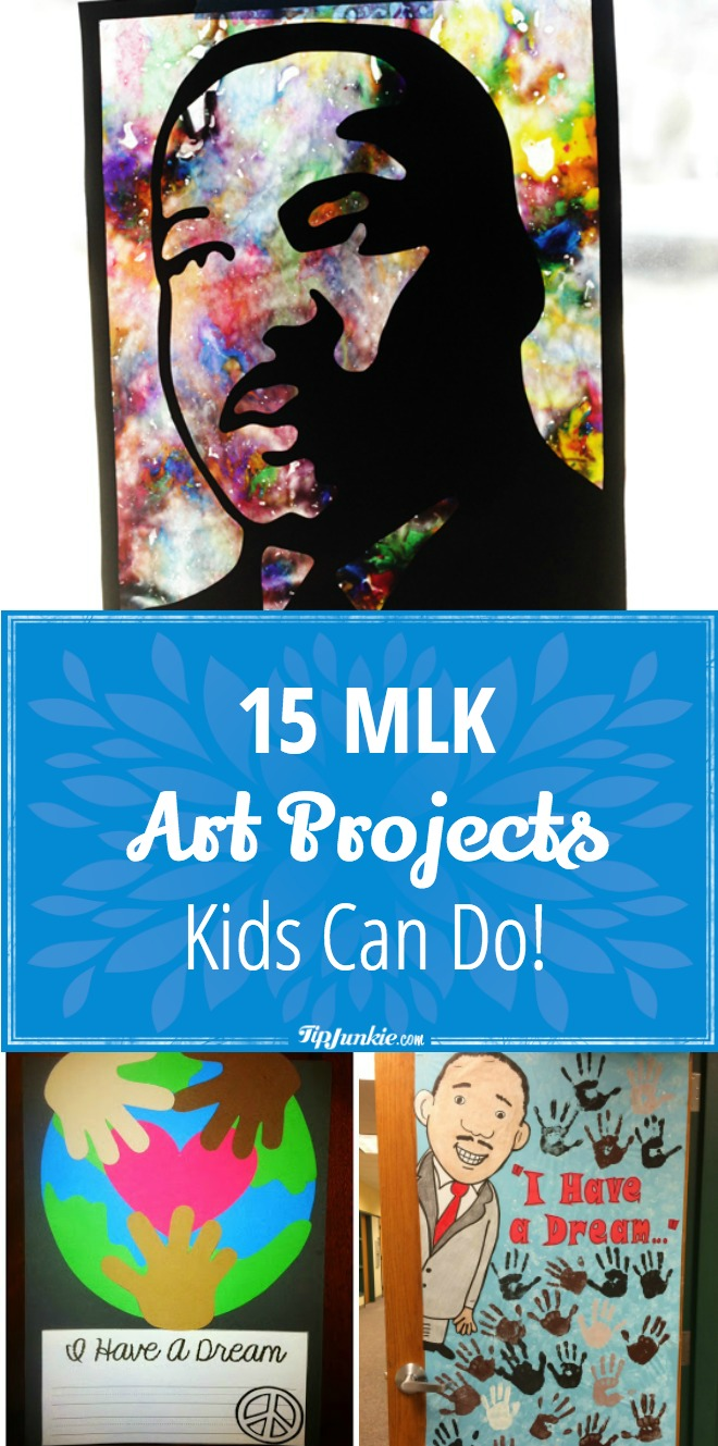15 Mlk Art Projects Kids Can Do Tip Junkie
