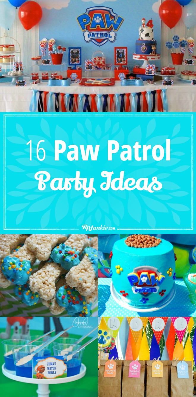16 Paw Patrol Party Ideas