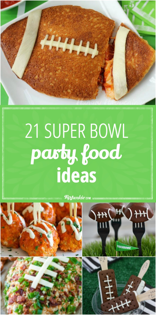 21 Super Bowl Party Food Ideas Tip Junkie