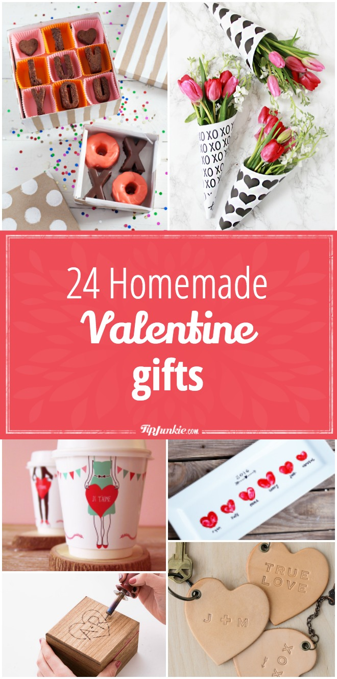 24 Homemade Valentine Gifts
