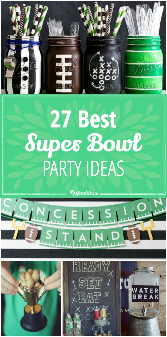27 Super Bowl party ideas for a kickin' party!