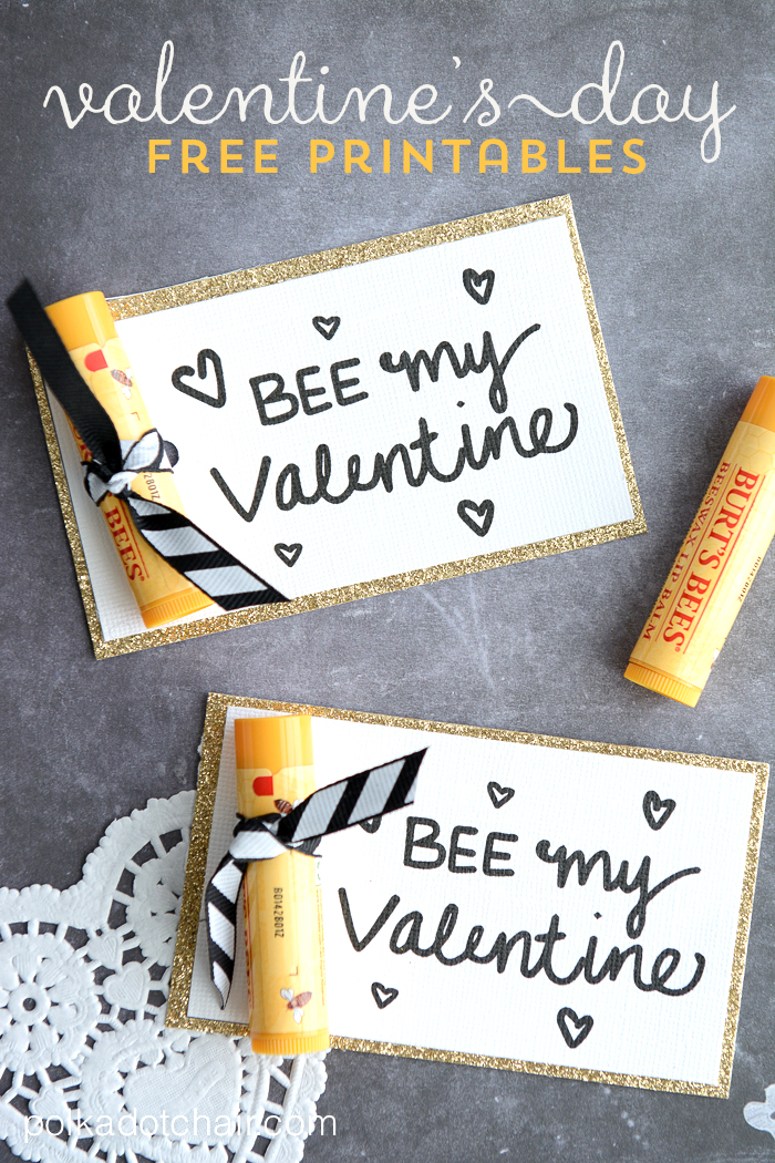 Bee My Valentine Gift Idea
