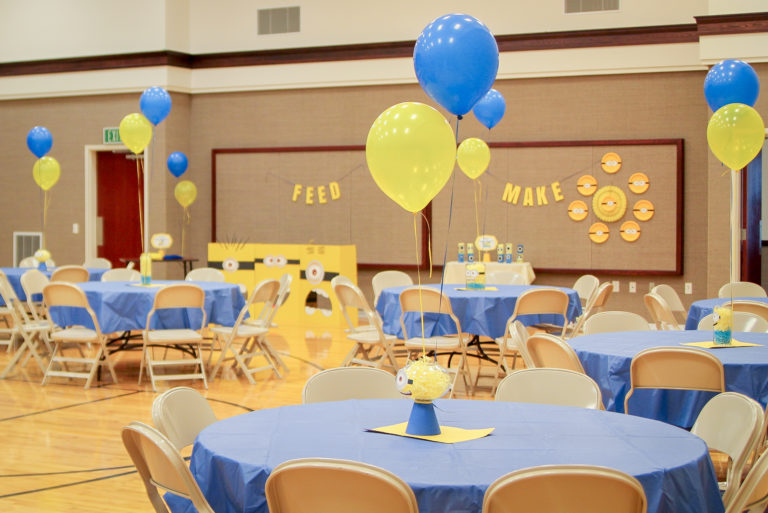 Blue And Gold Banquet Party Free Printables Tip Junkie