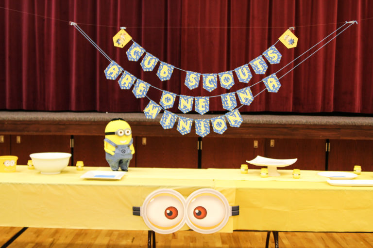 Cub Scouting Blue and Gold Banquet Banner