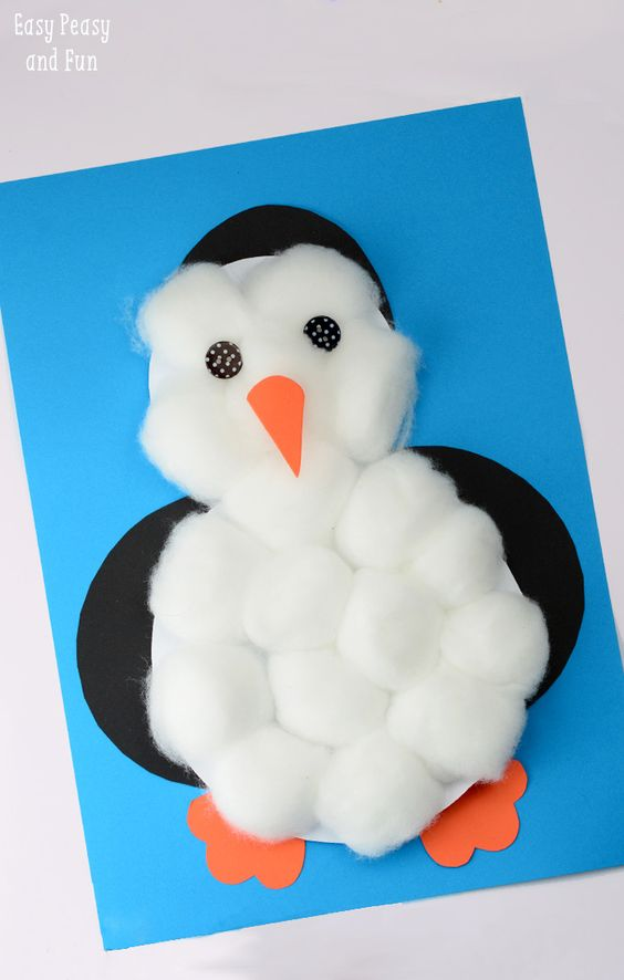 10 cotton ball crafts for kids tip junkie - Cotton ballspractical ideas ...