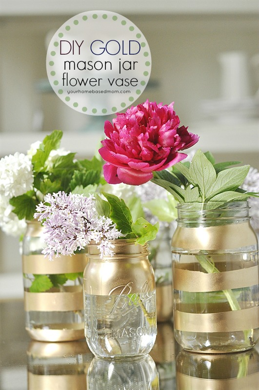 10 Ways to Arrange Mason Jar Flowers | Tip Junkie