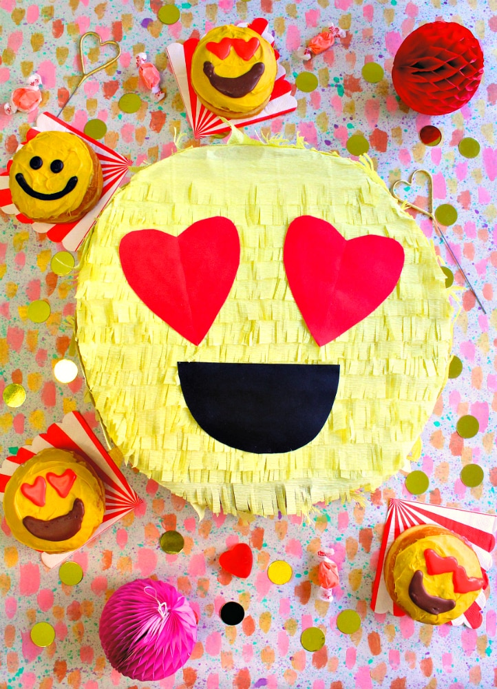 DIY Valentine Day emoji