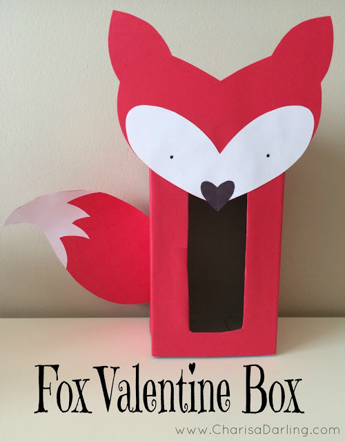 fox valentine box