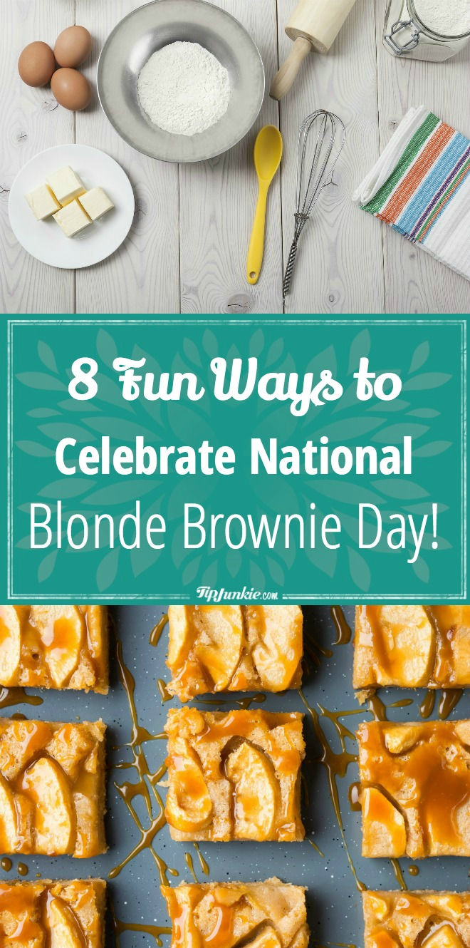 8 Fun Ways to Celebrate National Blonde Brownie Day