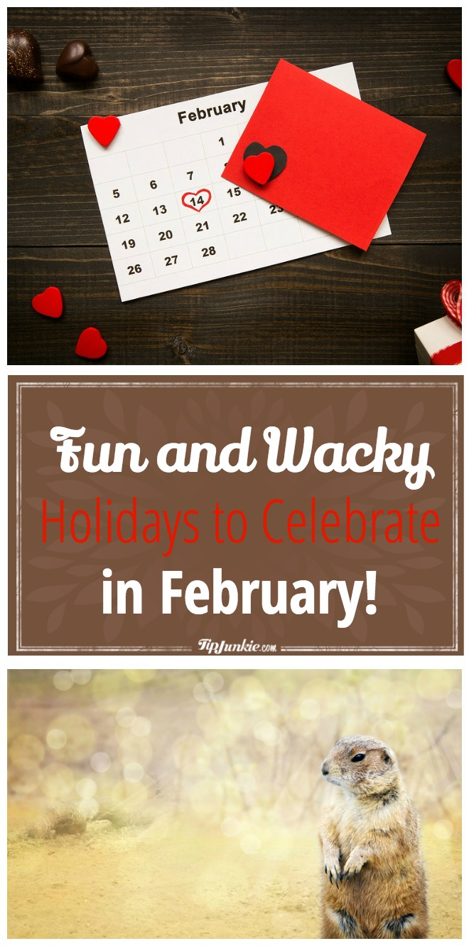 Fun and Wacky Holidays to Celebrate in February