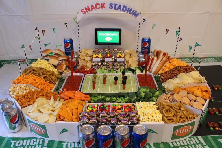 Super Bowl Snacks How To Build A Supreme Snack Stadium