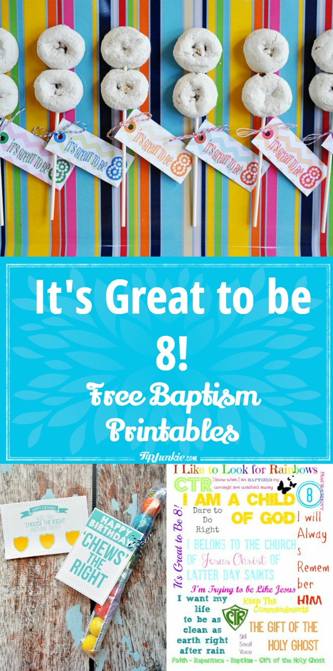 It's Great to be 8 Free Printables!