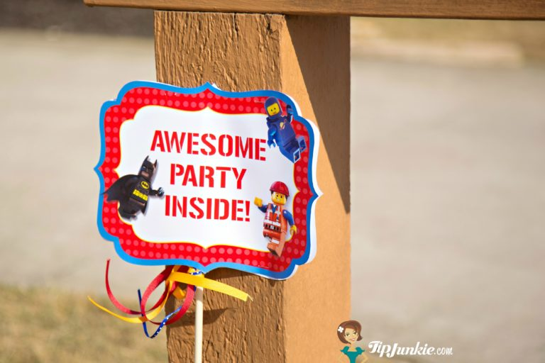 Lego Party Game Signs to Prin
