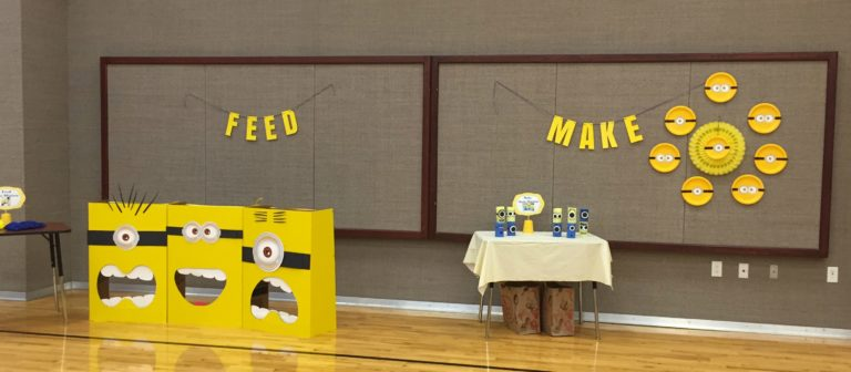 Minion Crafts and Party Games