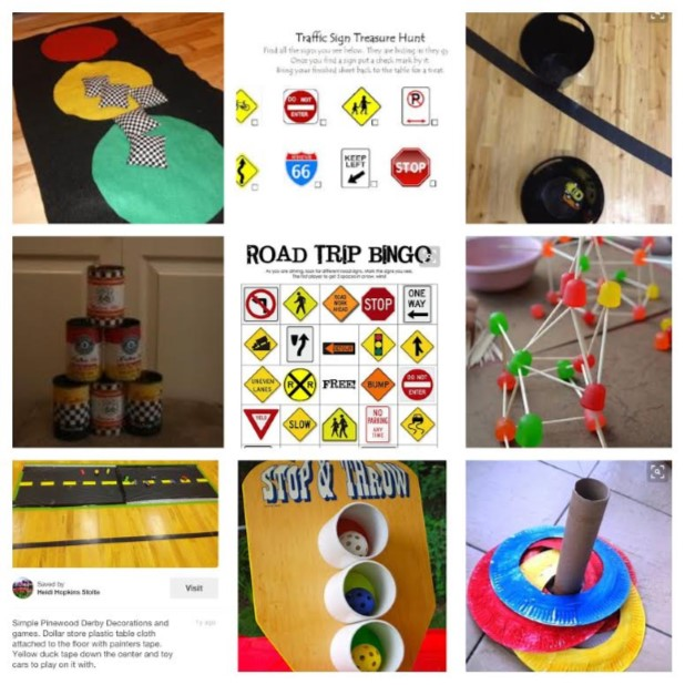 Pinewood Derby Games for Kids