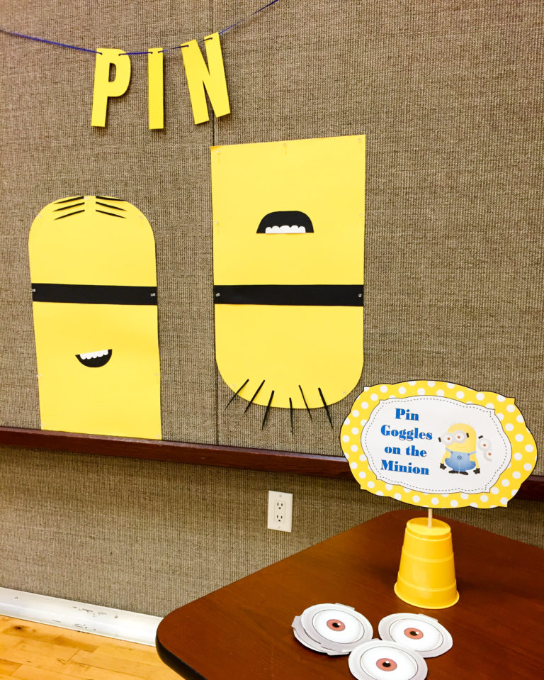 Pin the Googles on the Minion