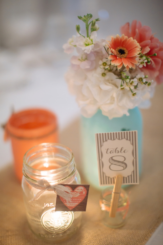 DIY Mason Jar Flowers