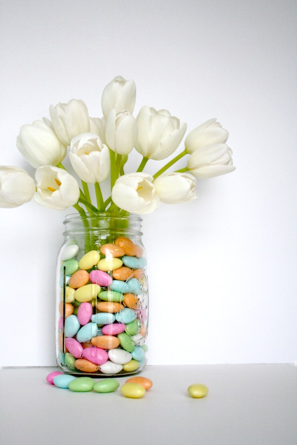 spring tulip arrangement hack