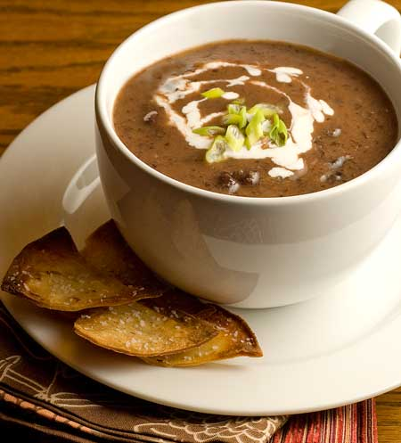 blender black bean soup recipe