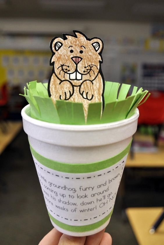 14 Groundhog Day Crafts For Kids Tip Junkie