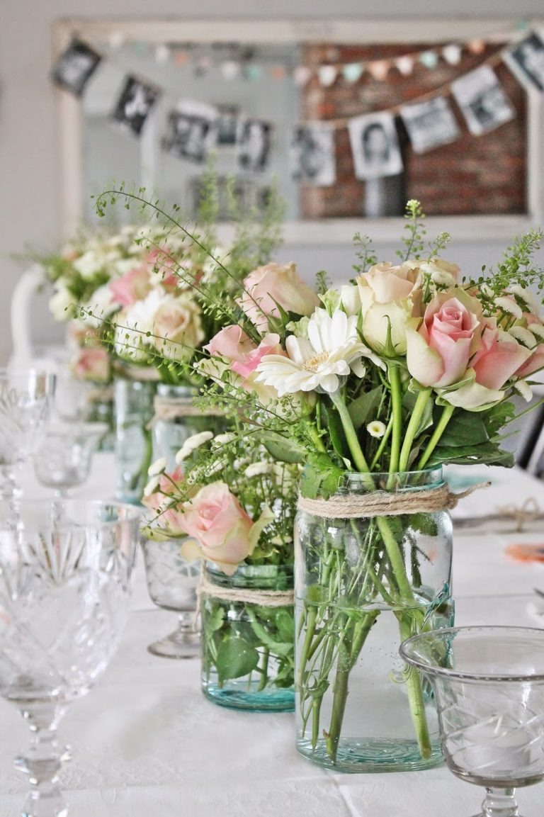 Ways to arrange mason jar flowers tip junkie