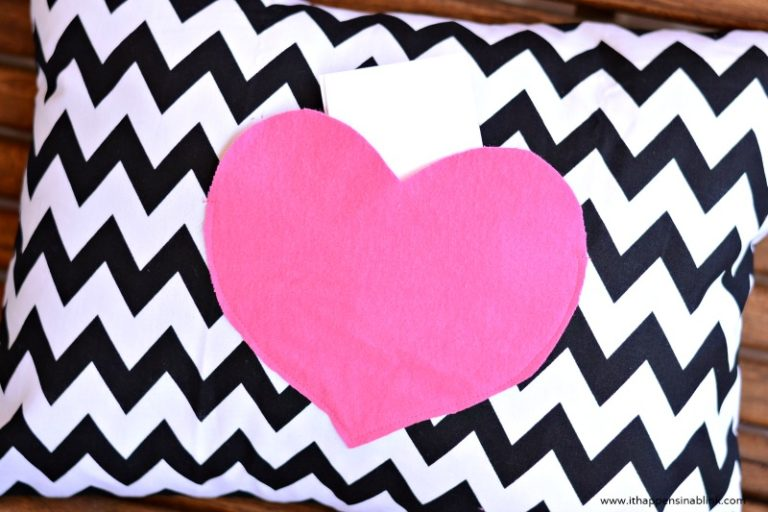Secret Love Note Pillow Cover
