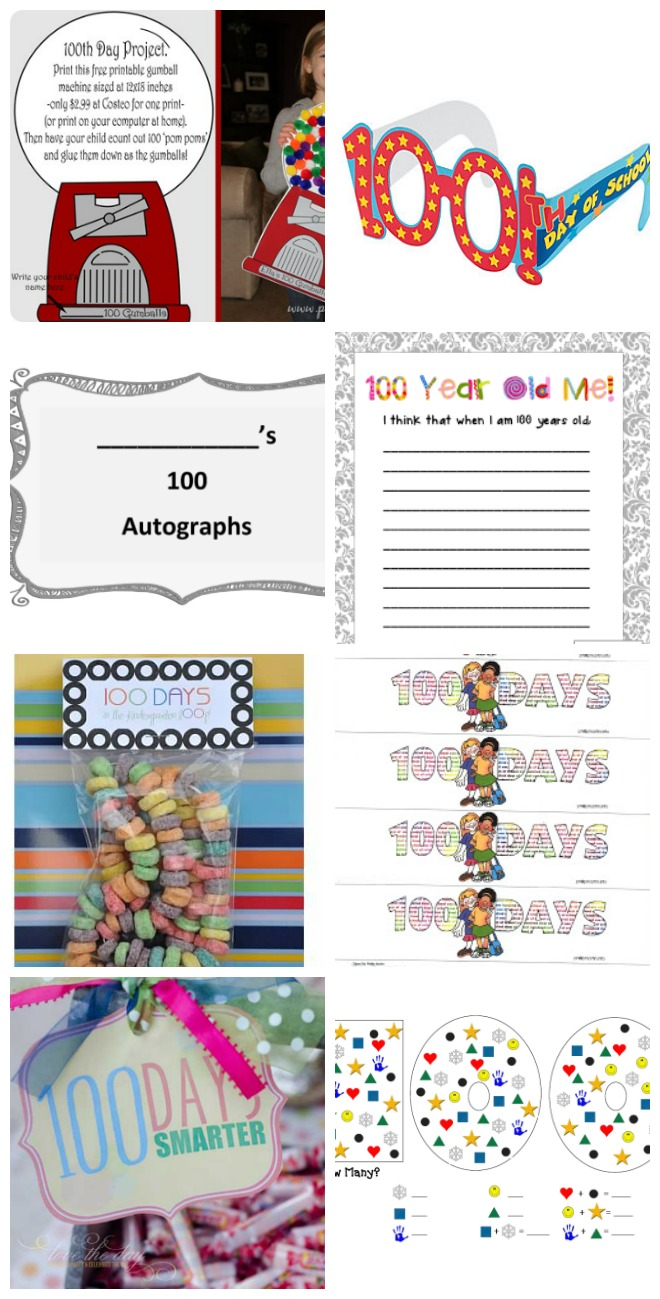 58 Creative 100th Days Of School Ideas Tip Junkie
