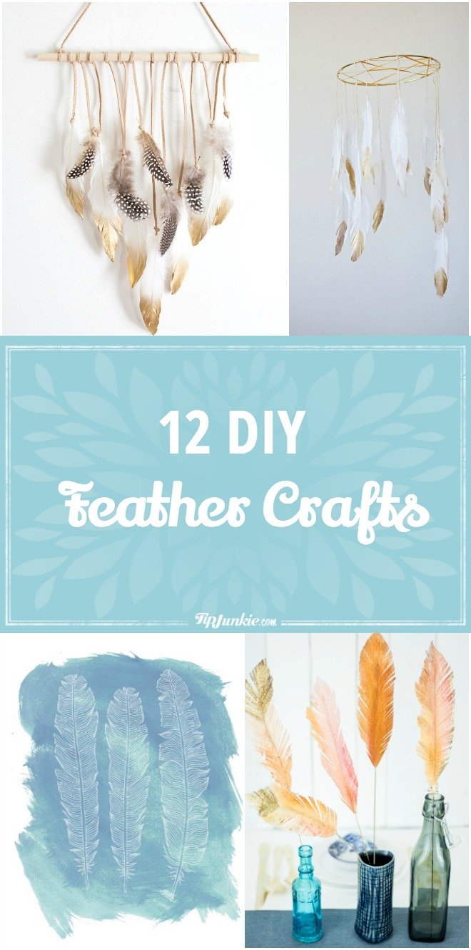 12 DIY Feather Crafts