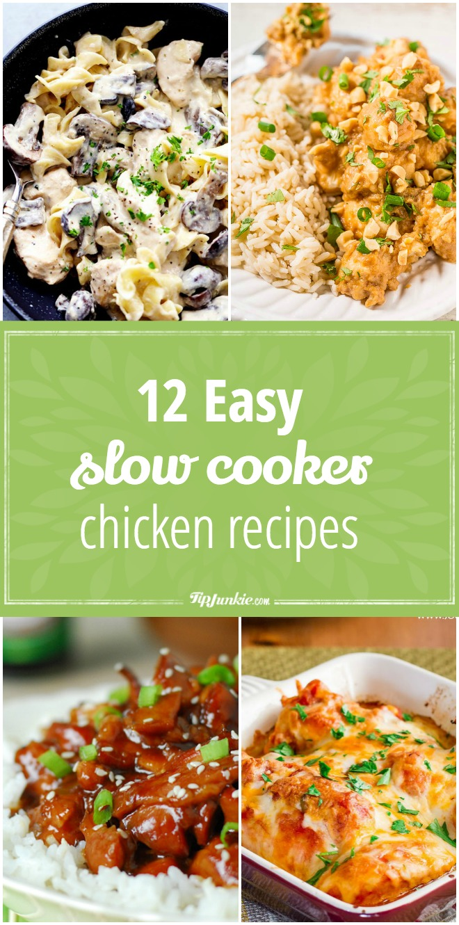 12 Easy Slow Cooker Chicken Recipes