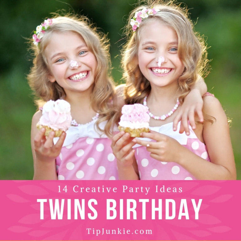14 Creative Twins Birthday Party Ideas