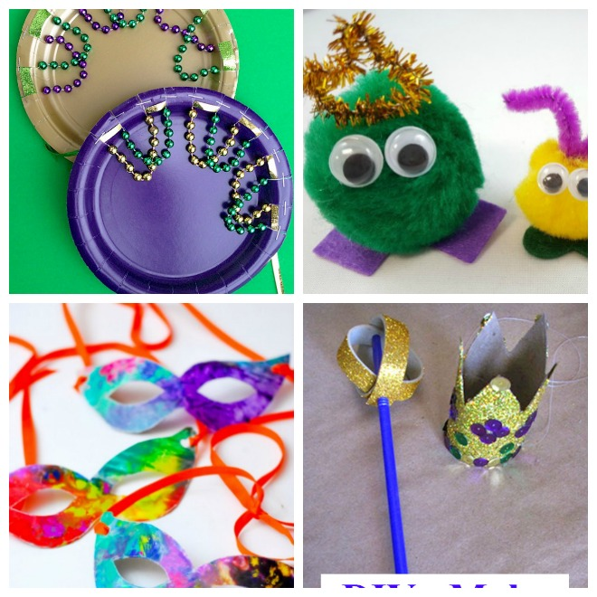 Charming Mardi Gras Kids Crafts Part - 14: Crafts For Kids