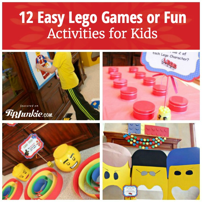 Easy Lego Games or Fun Activities
