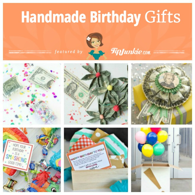 15 easy diy birthday gifts tip junkie for Easy diy birthday gifts